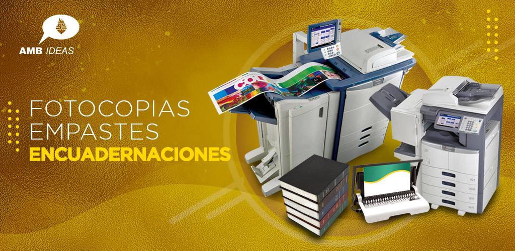 Fotocopias y empastes